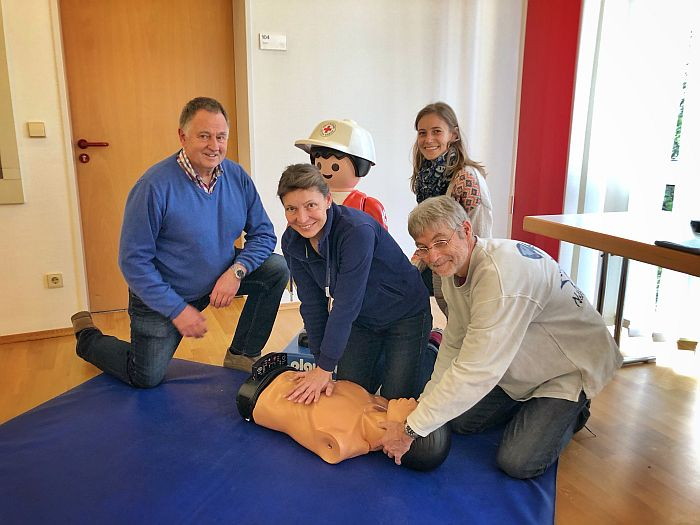 Bild:Erste Hilfe Schulung