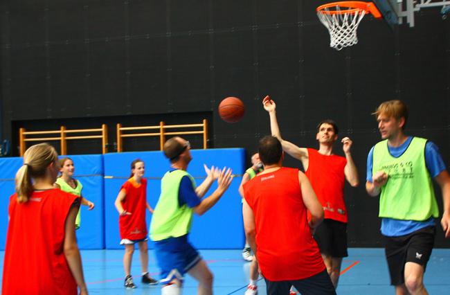 Bild:Freizeitabteilung - Basketball
